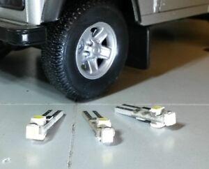 LED-BLANC-XENON-Panneau-Outil-Radiateur-Kit-pour-Land-Rover-Defender-90-110-TDCi