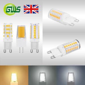 3-W-G4-5-W-G9-Dimmable-DEL-Capsule-Ampoules-Bon-etat-Remplacement-Halogene-lampe