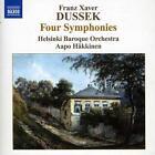 Franz Xaver Dussek (1731-1799): Symphonien in G,A,B,B (Altner G4,A3,Bb2,Bb3) von Helsinki Baroque Orchestra,Aapo Häkkinen (2012)