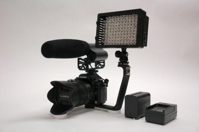 Pro VM XL-12L 810 video mic light F970 for Nikon D810 D800e D800 800 D7100 D5300