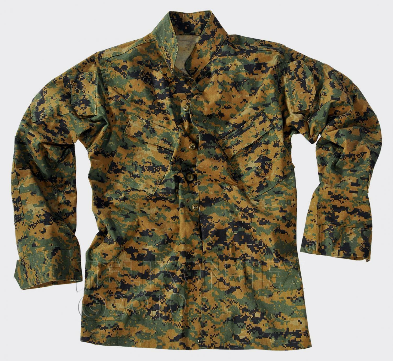 HELIKON tex US Marine Corps USMC digital Army Woodland chaqueta Coat chaqueta de campo
