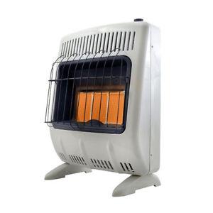 Mr. Heater 18000 BTU Vent Free Radiant 20# Propane Indoor Outdoor ...
