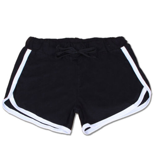 Summer Women Ladies Low Waist Drawstring Casual Workout Fitness Skinny Shorts CB