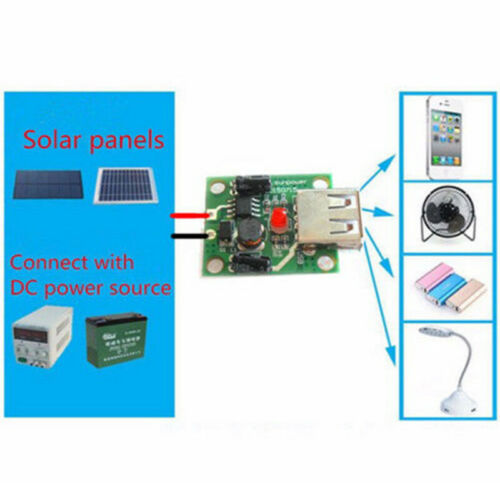 Cell4H DC6V-20V 18V bis 5V 2A USB-Solarpanel-Ladegerät-Regler Faltender Beutel