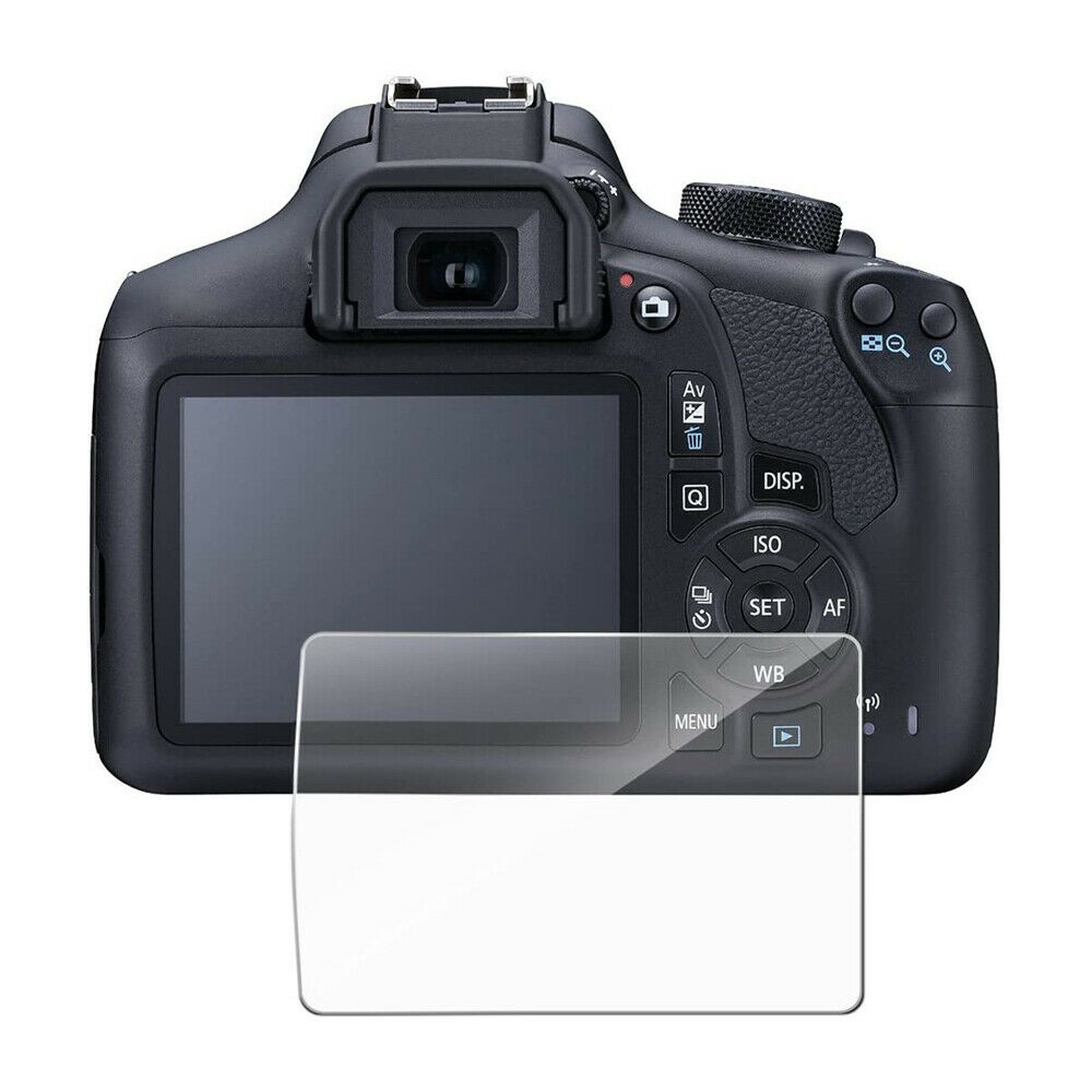 Camera 9H Tempered Glass Screen Protector Film For Canon 1200D 1300D 1500D/2000D