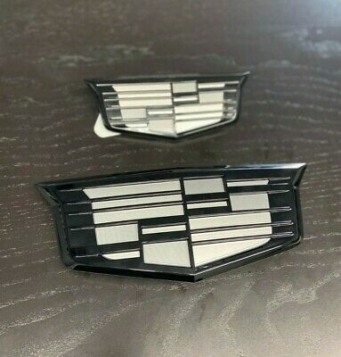 2015-2020 Escalade Grille/liftgate bowties emblems Black ...