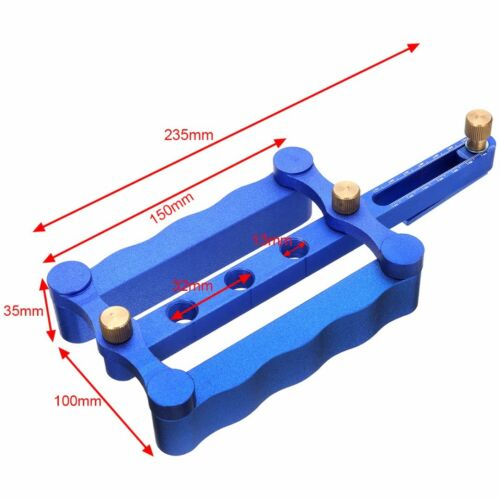 Auto Centrage brochage Jig Métrique Goujon De Forage Foret Bois Kit 6//8//10mm Set