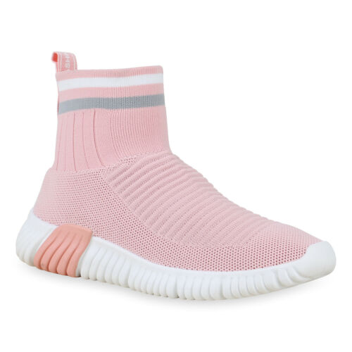 Damen Sportschuhe Slip On Laufschuhe Sock Sneaker Sockenschuhe 831007 Schuhe