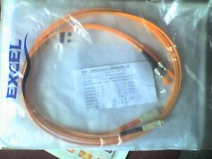 Intelligent Excel 2 M Fibre Optique Cordon Duplex Câble St-sc 50/125 Orange-sealed-nos-afficher Le Titre D'origine