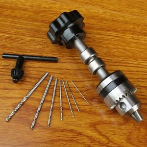 New Mini Hand Drill Machine Manual Drilling Tool Make
