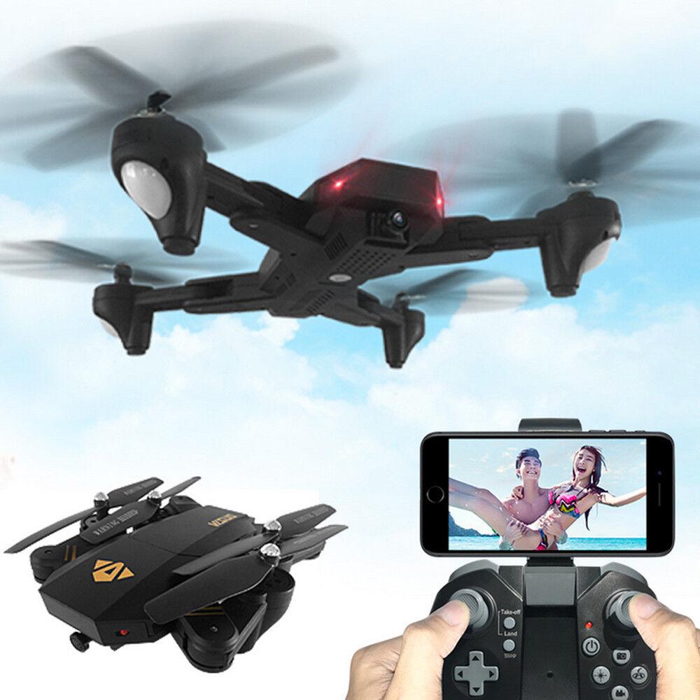 3 batteria + visuo xs809hw RC Quadcopter WIFI  FPV Foldable SELFIE Drone fototelecamera 2mp  alla moda