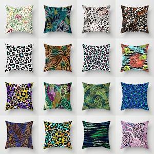18'' Cover Home Case Polyester Cushion Decor Sofa Waist Pillow Throw