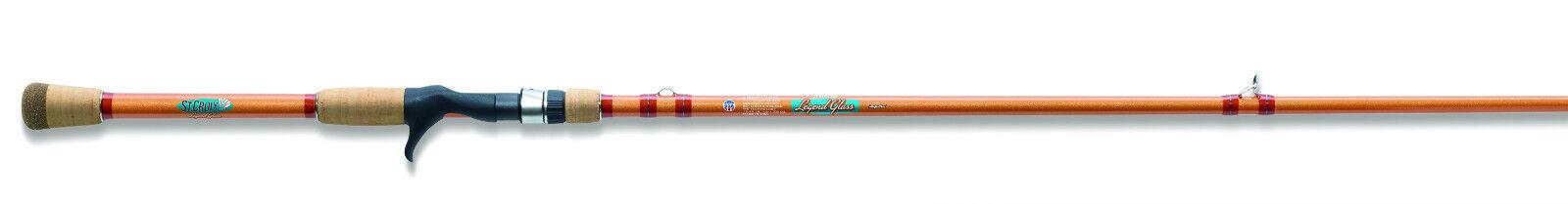 St. Croix Legend Glass Bait Casting Rod  (Choose Model)  more discount