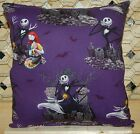 Nightmare Before Christmas Pillow Jack Skellington & Sally Pillow HANDMADE USA