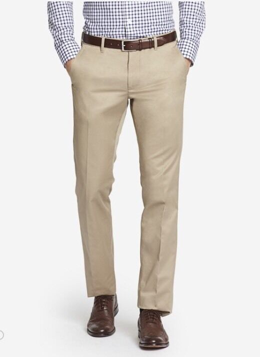 Bonobos Weekday Warriors Dress Pants Wednesday Tans Slim Fit 29x30