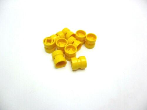LEGO 10x CERCHI//RUOTE 8x9mm in giallo 30027b