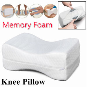 Double-side-Pillow-Knee-Leg-Support-For-Sleeping-Reading-Cushion-Memory-Foam-USA