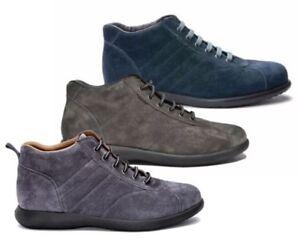 FRAU-27B4-BLU-LAB-AVIO-SUEDE-scarpe-uomo-polacchine-sneakers-pelle-camoscio