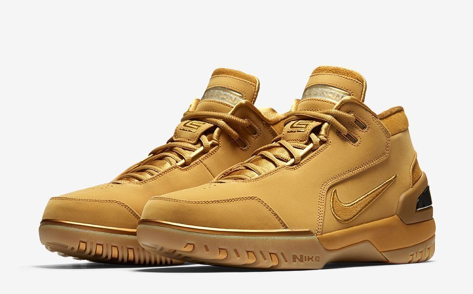 Nike Zoom Generation ASG QS Retro Lebron James Wheat/Gold/Black AQ0110-700 Seasonal clearance sale