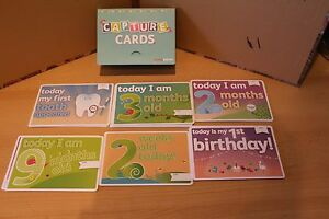 BABY CARDS  BABY CAPTURE EVERY MOMENT CARD COLLECTION x 30 DIFFERENT EVENT CARD - <span itemprop=availableAtOrFrom>Sunderland, United Kingdom</span> - BABY CARDS  BABY CAPTURE EVERY MOMENT CARD COLLECTION x 30 DIFFERENT EVENT CARD - Sunderland, United Kingdom