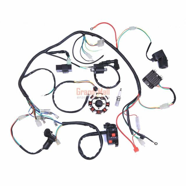 150 250 300cc Motor Engine Electrics 4 Stroke Quad Atv Wiring