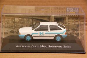 Altaya-1-43-volkswagen-gol-sabesp-saneamento-basico-DIECAST-Toys-car-models-auto