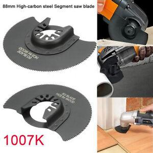 88mm-8-9cm-Oscillant-Outil-De-Coupe-HCS-Segment-Lame-Scie-Pour-Fein-Multimaster