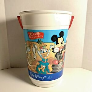 Retro Disney World Popcorn Bucket Hollywood Studios Orville Redenbacher | No Lid