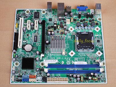 Msi Ms 7525 Boston Motherboard Skt 775 Ddr2 Intel G31 Ebay