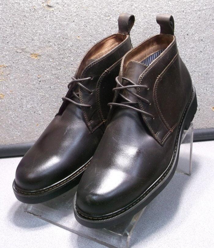 591810 MSBT50 Men's Shoes Size 8.5 M Brown Leather Lace  Boots Johnston & Murphy