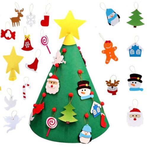 3D Kegel Handwerk Filz Weihnachtsbaum für Kleinkinder Vorschulkinder Gifts DIY