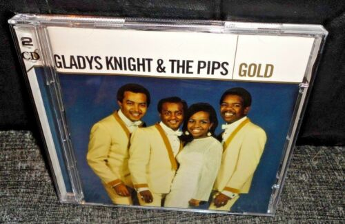 1 of 1 - Gladys Knight & The Pips Gold (CD, 2005, 2-Discs)