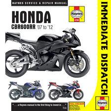 [4795] Honda CBR600RR 2007-2012 Haynes Workshop Manual