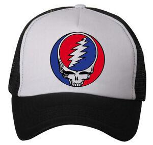 Details about 'Grateful Dead' Hat (snapback trucker hat-Adjustable) ~  Phish/Jerry Garcia/70's