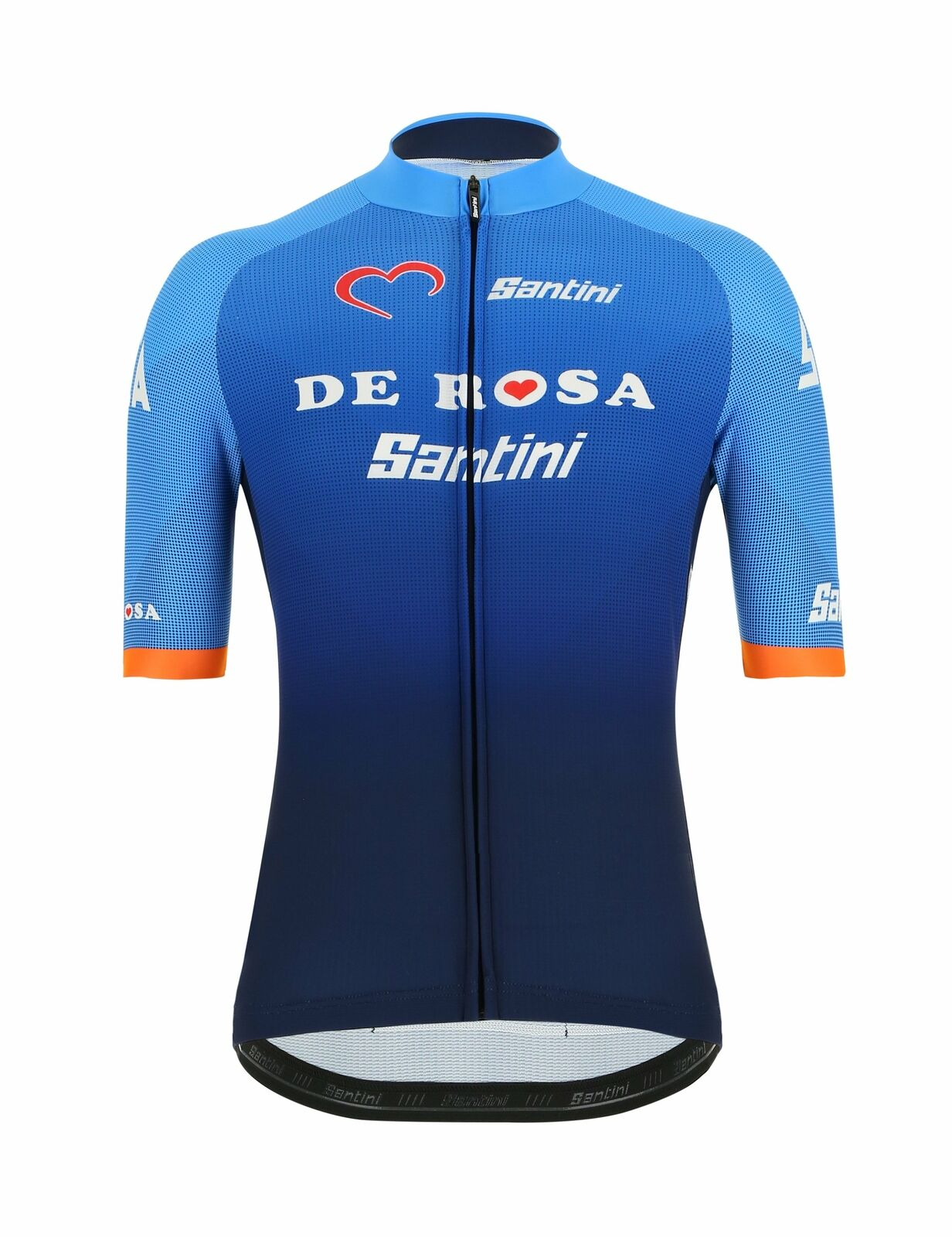2019 Santini De pink Men's Cycling Jersey Made in