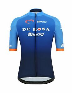 2019 Men's Soffio Cycling Jersey by Santini Made in Italy Burgundy