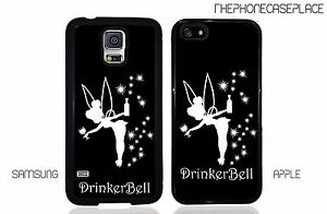 Disney-Peter-Pan-Drinker-Bell-Tinkerbell-Tinker-bell-Apple-or-Samsung-Phone-Case