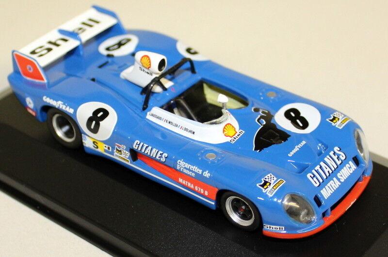IXO échelle 1 43 LMC014 Matra 670B  6 Le Mans 1974 DIECAST Voiture Modèle