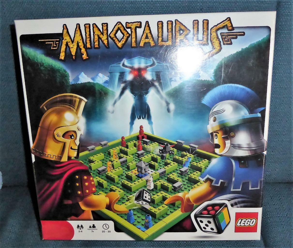 LEGO Family Board Game Minotaurus Dice Factory Factory Factory Sealed NEW df6818