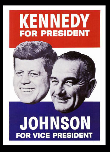 #1 A3 Kennedy US Political Campaign Retro Wall POSTER Print Art