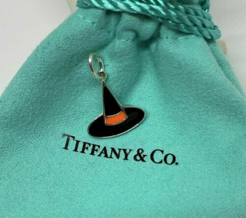 Tiffany&Co. Sterling Silver 925 Enamel Witch Hat H