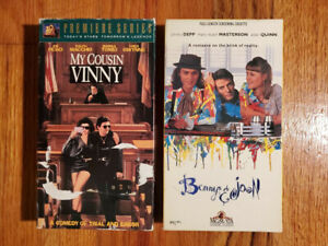 Lot2-My-Cousin-Vinny-Pesci-92-Benny-amp-Joon-Depp-93-VHS-RARE-HTF-OOP-Comedy