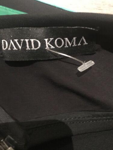 New David Brand verde Crop Roma Top 8 dettaglio Taglia con qfwHdw