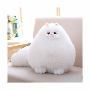1875ac9a4ffb Kids Cats Stuffed Animal Toys Gift Plush CAT Baby Doll Fat White 12 ...