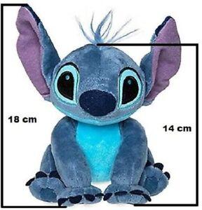 Lilo & Stitch Stitch 18 Centimetri Disney Morbido Peluche in Fibra di...