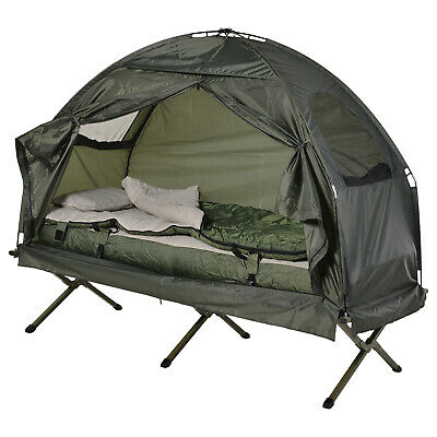 OUTDOOR 1 PERSON FOLDING Tent Elevated