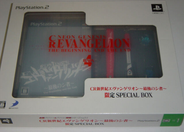 "Sony PlayStation 2 ""CR Neon Genesis Evangelion"" Limited Special Box Game - JAPAN"
