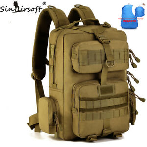 91abaef6379 Image is loading 30L-Sport-Camping-backpack-Military-Tactical-Travel -Hunting-