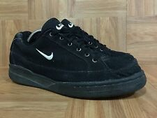 Vintage🔥 Nike Courtster Black Hemp Hiker Trail Gum Soles 90's Release Sz 9 Cool