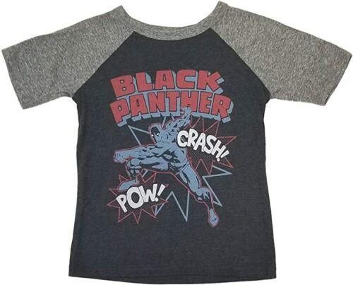 Jumping Beans Youth Boys Marvel Panthers Crash Pow Sleeve Shirt New 4-12